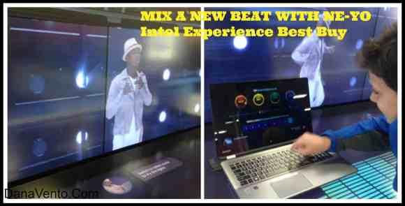 The Intel Experience at Best Buy, technology, hands on, in store, techs, gadgets, futuristic, dana vento, augmented reality, ne yo