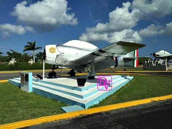 Aztec Eagles of WWII, plane, history, cozumel, trips, tourism, dana vento, travel blogger, cozumel,