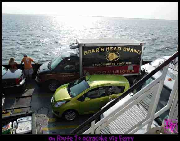 Ocracoke Ferry, Hatteras Inlet, ferry, free ferry, travel, tourism, family, adventure, car, free ferry, driving, travel blogger, outer banks, north carolina, obx, off hatteras island, most popular, not driving, marine life, dana vento