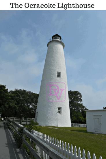 Ocracoke Island Lighthouse, visiting the Ocracoke Lighthouse, the 2nd  oldest working lighthouse in the nation, US Coast Guard Run, Ocracoke Island, tourism, traveling, travel blogger, bucket list, lighthouse, kids, family, family adventure, trips, vacations, free, lighthouse road, dana vento