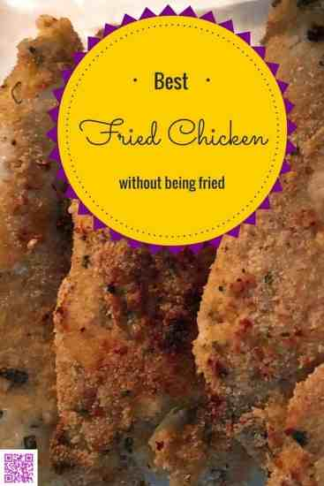 Best fried chicken recipe without oil best 3 ingredient fried chicken in an oilless fryer healthy boss less fat forumfinder Image collections