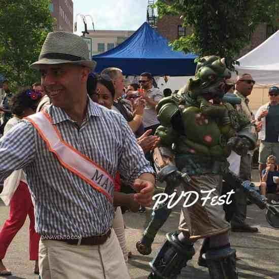 mayor jorge elorza, pvdfest, providence, arts, south to southwest, celebration of art, yarrow thorne, The Avenue Concept, Close Act Theater, Streets, bubbles, food, arts, crafts, shows, dancing, music, acting, local 121, block parties, The dorrance, The Eddy, Go Providence, The Rosendale, Circe Restaurant and Bar, Rooftop at the Providence G, RISD Museum, Saurus, travel, travel writer, Barnaby Evans, WaterFire, Todd Oldham, art appreciation