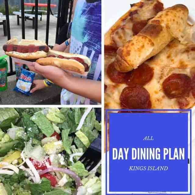 Kings Island All Day Dining Plan Allergen Friendly Dining
