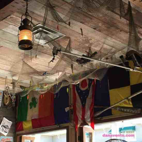 Reel Bar, Reel food, Reel Entertainment, Lake Erie, Put In Bay, Catawba Ave, food destination, drink destination, foodies, golf carts, parking, eating, dining, drinking, music, traveling, family travel, allergen friendly, dining with allergies, chicken fingers, fresh cut fries, salad, perch tacos, great lakes tortilla, fried perch, citrus slaw, soft shells, chicken tender platter, strips of chicken, bowl, southwestern, greens, black beans, grilled corn, red onion, cheddar cheese, tortilla strips, drizzled with bbq, ranch dressing, foodies, food writer, travel writer, destination, lake erie love, ohio find it here, traveller, dana vento travels, dana vento eats