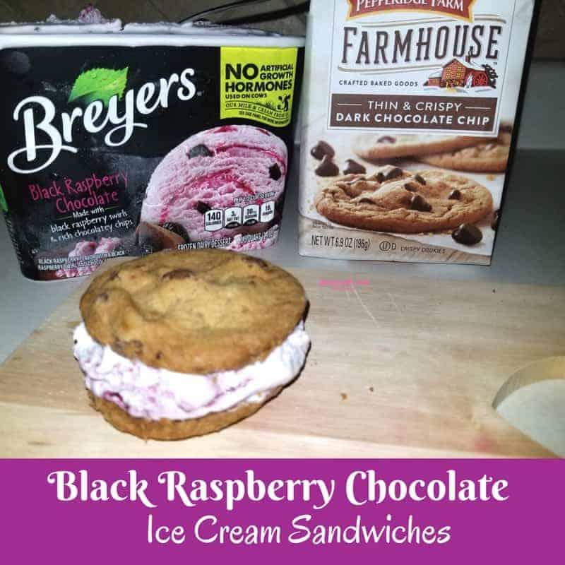 Breyers Ice Cream and Pepperidge Farm Cookies