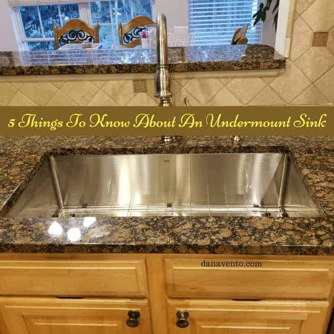 5 things to know about undermount sinks