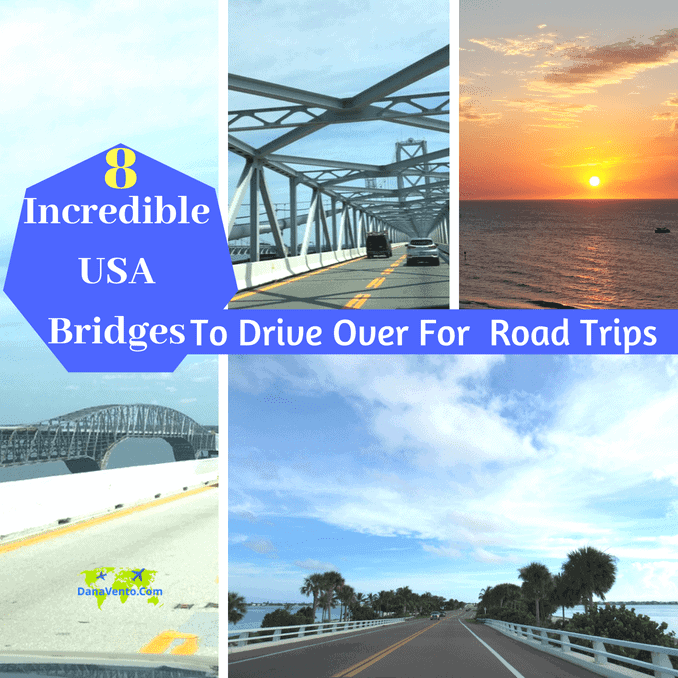8 Incredible USA Bridges To Drive Over For Road Trips