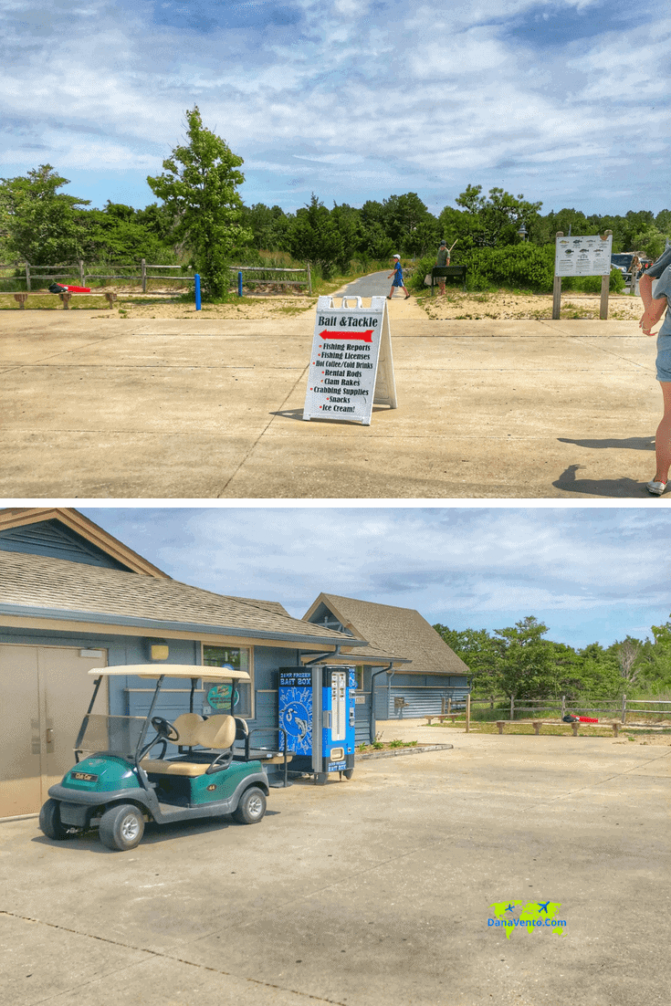 Bait & Tackle Shop at Cape Henlopen State Park