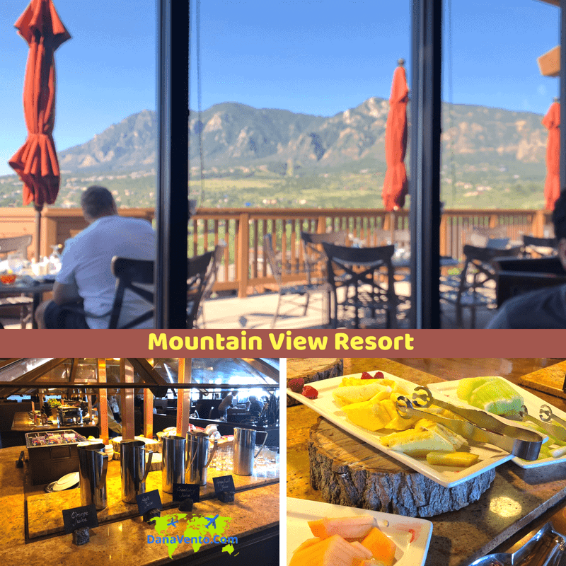 Family Friendly Resort Loaded With Amenities In Colorado Springs, View of Mountain