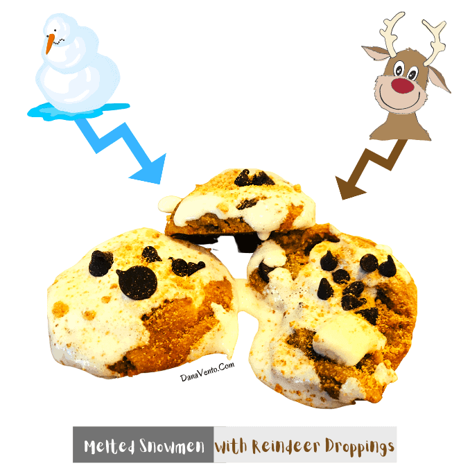 the tale of Melted Snowmen With Reindeer Droppings