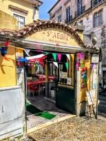 Typical little Lisbon restaurant