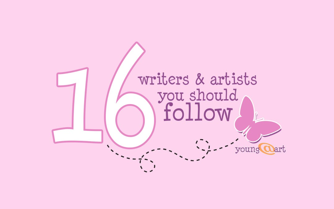 16 writers & artists you should follow