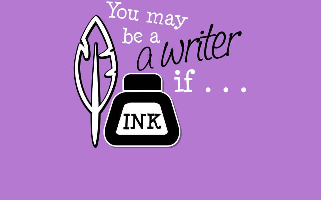 Think you may be a writer?