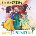 St Patricks Day 2017 (a Socially Awkward web comic)