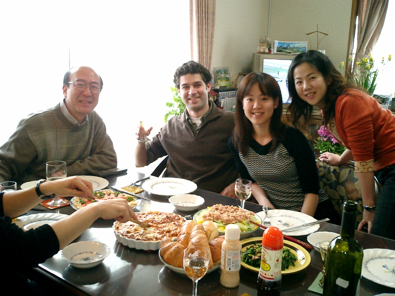 Kawabata Family Lunch