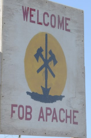 Welcome to FOB Apache