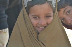 All the kids were happy to see us in Haji Sultan