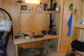 The ADT OIC's desk
