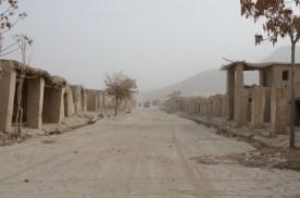 The Mizan bazaar is almost completely deserted