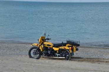 at Lake Huron