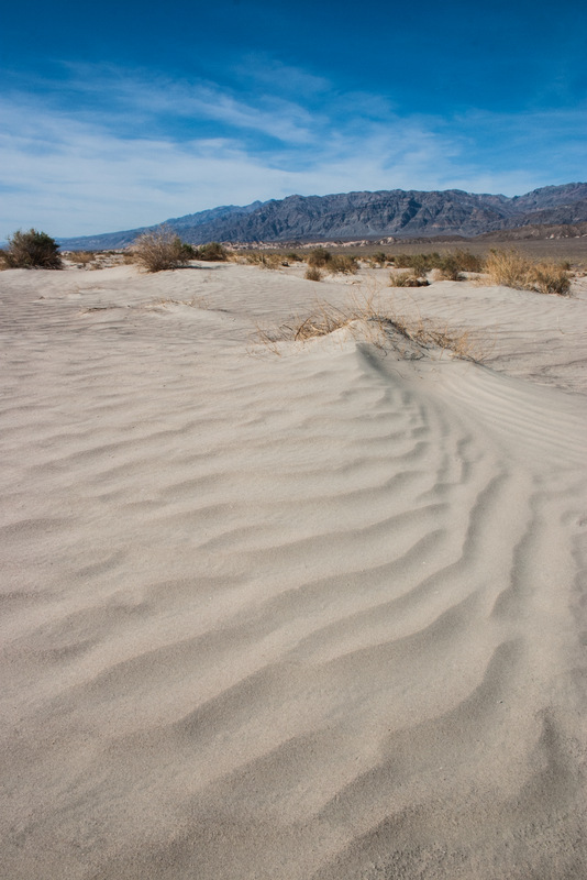 Tiny Waves of Sand landscape photo of Death Valley National Park California by Dan Bourque