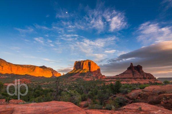 Arizona Twilight landscape photo by Dan Bourque