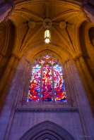 Cathedral Glass photo of National Cathedral Washington DC by Dan Bourque