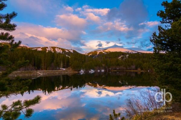 First Light on Breckenridge landscape photo by Dan Bourque