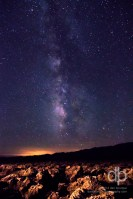 Milky Way over Death Valley starscape photo by Dan Bourque