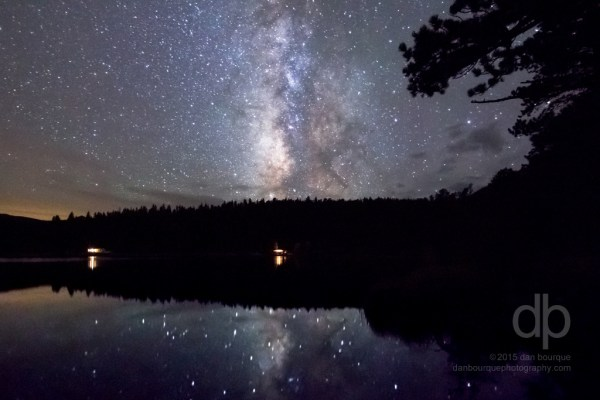 Reflecting on the Galaxy Milky Way photo by Dan Bourque