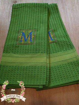 personalized hand towel - M