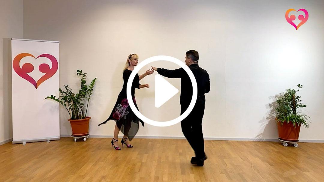 discowalzer aufbau kurs 01 - Discowalzer-Tanzvideos