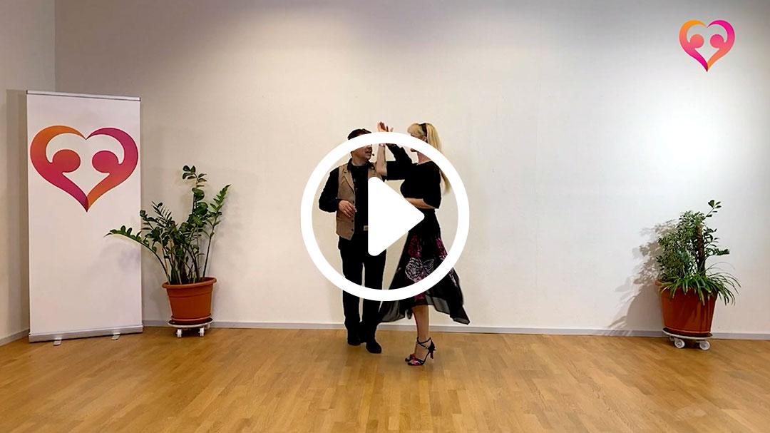 discowalzer fortgeschrittenen kurs 01 - Discowalzer-Tanzvideos