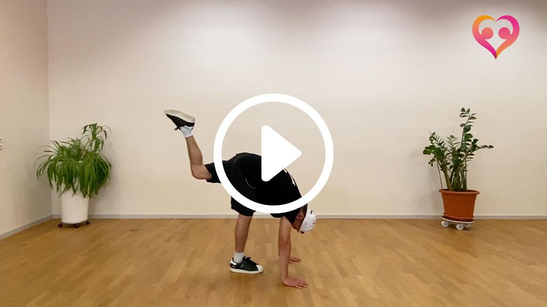 breakdance beginner 2 toni 01 - Breakdance-Tanzvideos