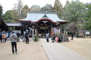 筑紫神社正殿