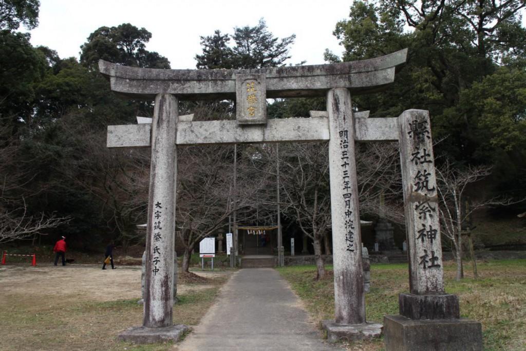 筑紫神社鳥居
