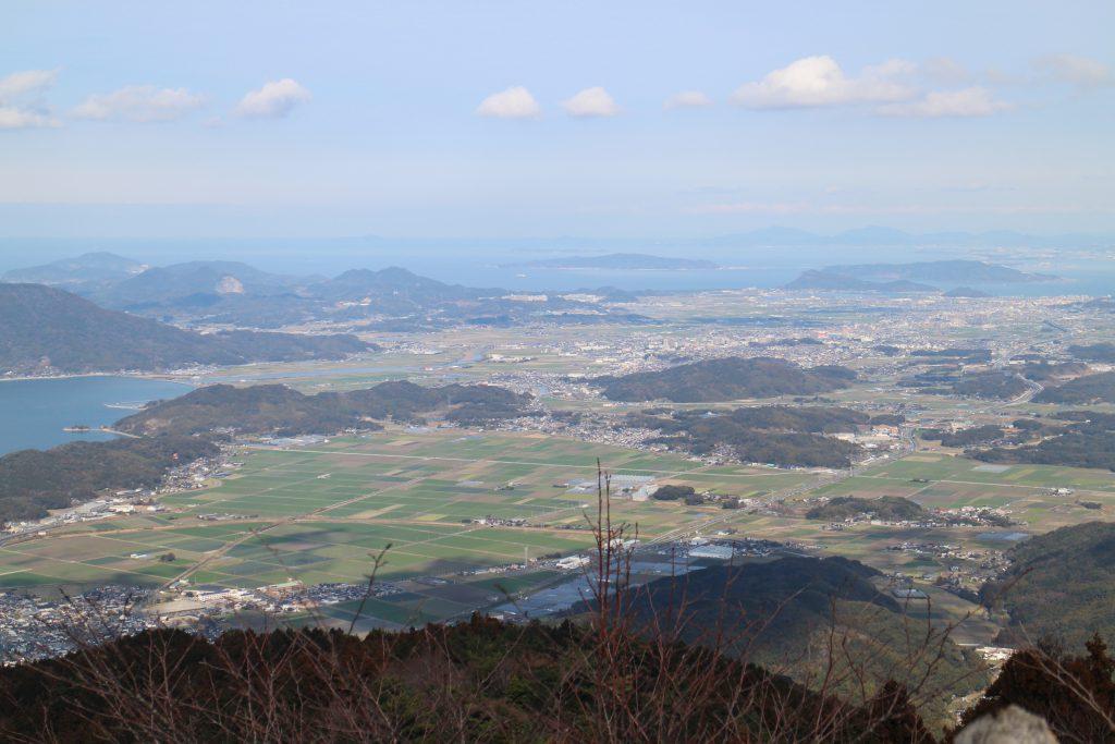 糸島市街方面