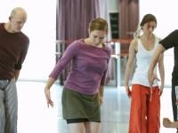School of Dance student Emily Wolfe during rehearsal of Liz Lerman's Healing Wars