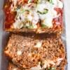 Italian Meatloaf sliced
