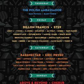 Euphoria Music Festival 2016 Lineup