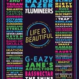 Life is Beautiful 2016 Lineup