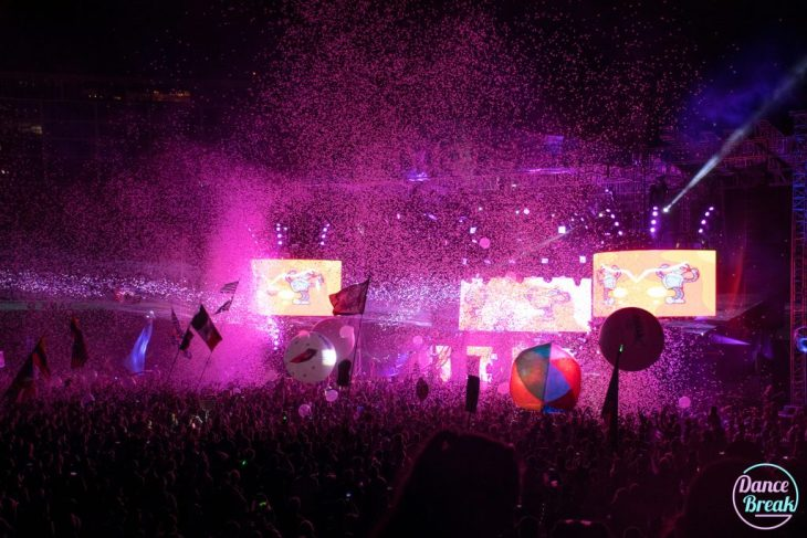 Confetti at Borgore, Imagine Music Festival 2016