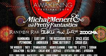 Zen Awakening 2016 Lineup