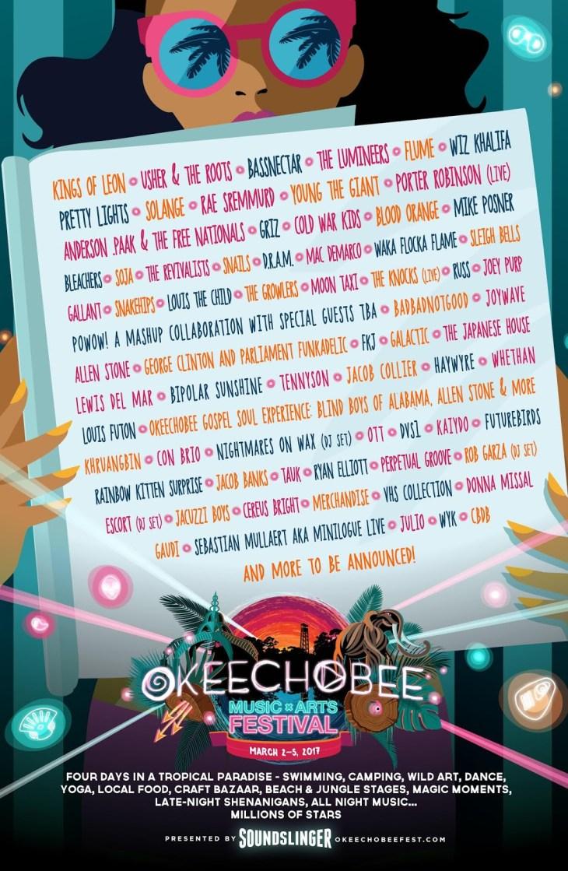 Okeechobee 2017 Lineup