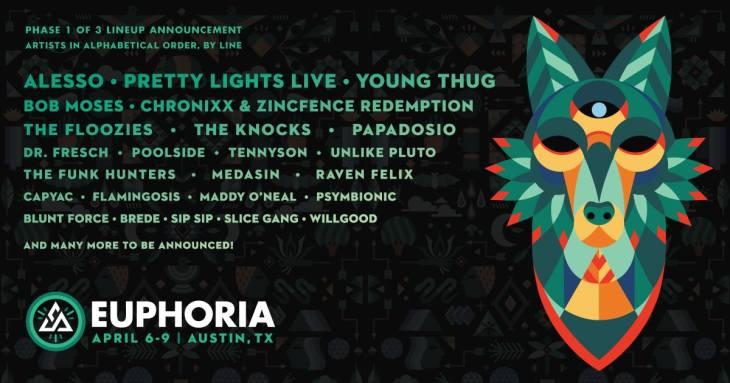 Euphoria Music Festival 2017 Lineup