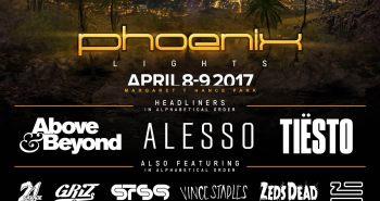 Phoenix Lights 2017 Lineup
