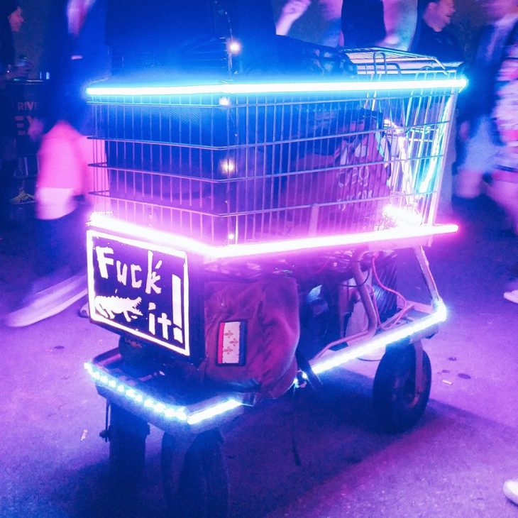 Art Cart at BUKU 2017