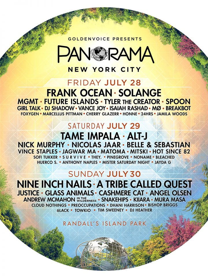 Image result for panorama music festival 2018 lineup