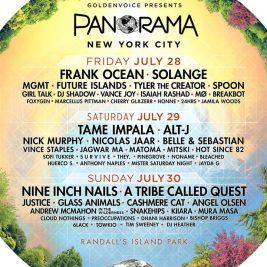 Panorama NYC 2017 Lineup