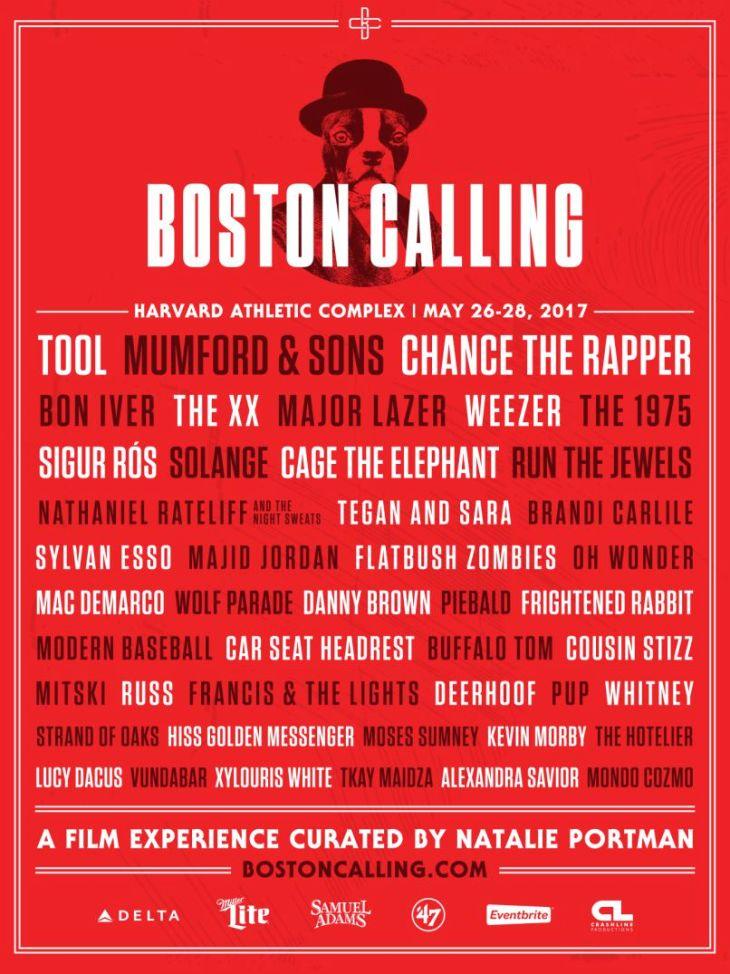 Boston Calling 2017 Lineup